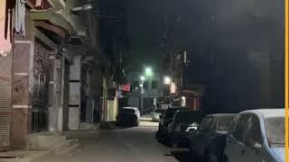 """شوارع خالية من المارة في """"دار السلام"""" في أول أيام حظر التجوال"""