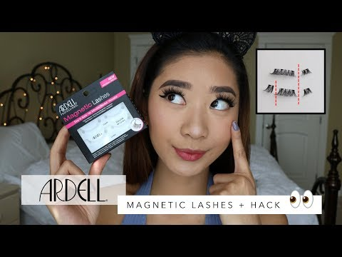 8fd71b111ed ARDELL MAGNETIC LASHES + HUGE HACK ON GETTING THEM TO WORK! - YouTube