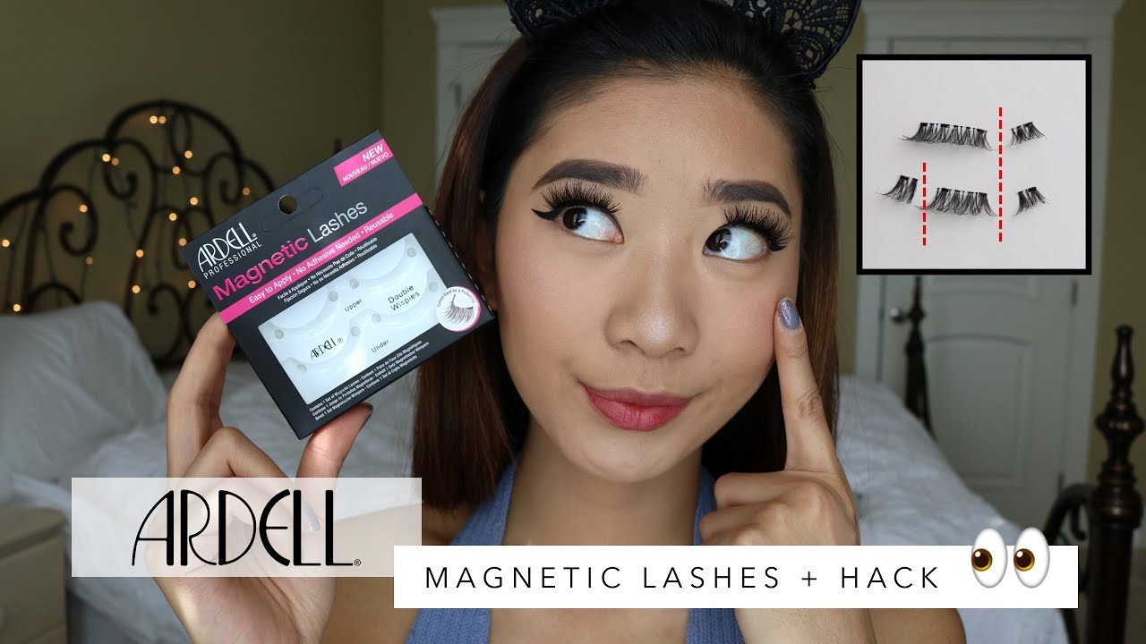 846030a83a3 ARDELL MAGNETIC LASHES + HUGE HACK ON GETTING THEM TO WORK! - YouTube