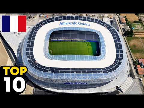 The Best Stadiums in France #top10