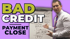 Car Sales Training: Bad Credit Customer Payment Close