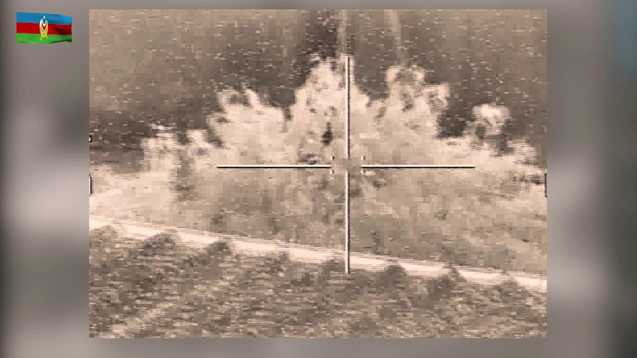 New footage appears to show Azerbaijani Spike-NLOS strike on an Armenian military position.