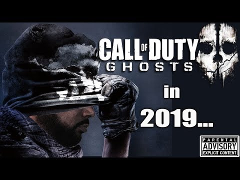 Playing Call of Duty GHOSTS in 2019 ???? Modern Warfare Drops in 129 Days...