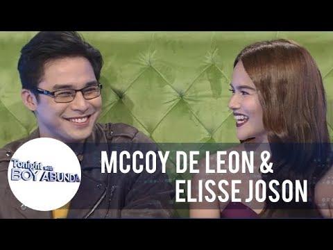 TWBA:  Elisse Joson confirms that she and McCoy De Leon are