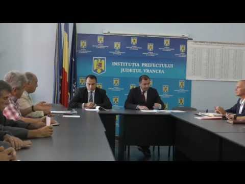 Vrancea Media TV Comisia de dialog social 28 aug 2014