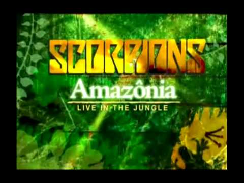 dvd scorpions amazonia live in the jungle