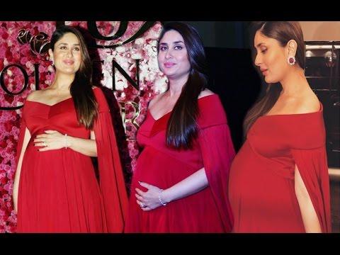 2739dcf2b50 Kareena Kapoor Hot In Red Dress At Lux Golden Rose Awards 2016 - YouTube