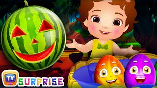 ChuChu TV Surprise Eggs Toys - Learn Fruits with Watermelon Song - Learn Colours and Objects!