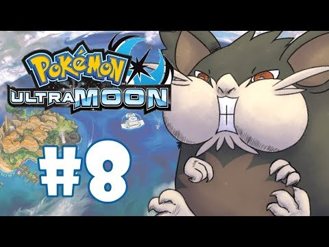 POKEMON ULTRA MOON #8 - PRIMEIRA TRIAL