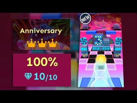 Rolling Sky - Anniversary (Bonus 19) All Mystery Boxes & Gems