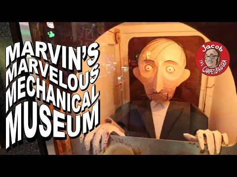 Worlds Most Wonderful and Bizarre Animatronics - Return to Marvin's
