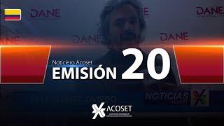 Noticiero Acoset - Emisión 20