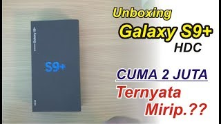 UNBOXING Samsung Galaxy S9+ HDC Indonesia - GIVE AWAY DI TUTUP MARET 2018 Pemenang IG : @tahaargety
