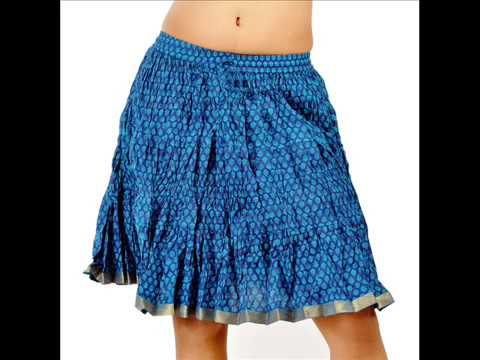 skirts online India-buy long skirts & short skirts online in India ...