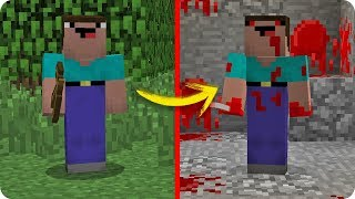 NOOB MINECRAFT VS NOOB.EXE CREEPYPASTA EVOLUCIONA A TROLL EN MINECRAFT