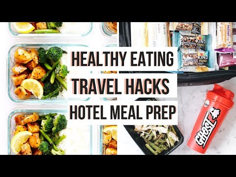 TRAVEL MEAL PREP IDEAS | Healthy Recipes For Weight Loss!