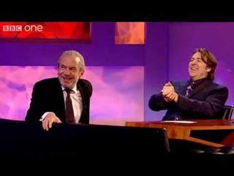 Johnny Vegas asks Sir Alan for a job -Jonathan Ross- BBC One
