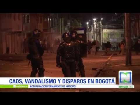 Disturbios y saqueos en supermercados del sur de Bogotá