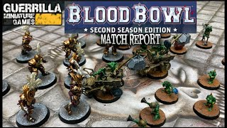 Blood Bowl Match Report - Imperial Nobility vs. Snotlings