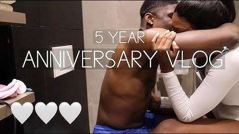 5th anniversary vlog  | Elizabeth Zola ♡