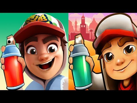 Subway Surfers JAKE vs 3D JAKE Subway Surf Jungle Adventure Gameplay HD