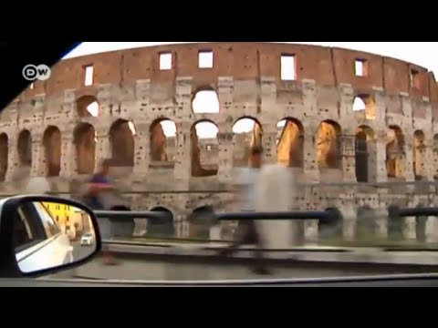 Exploring Rome in a cab | Euromaxx - Taxi Ride