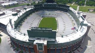 Historic Lambeau Field - SkyBlodgett - (Actually) 4k