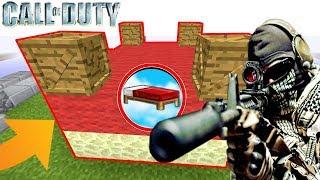 UNE BASE SÉCURISÉE CALL OF DUTY ! | Minecraft Bed Wars Moddé