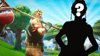 I found Tfue's stand in (Sniper Shootout)