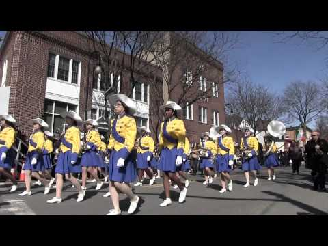 Tarrytown & Sleepy Hollow, St. Patrick Day Parade, clip 2
