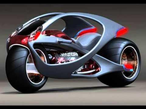 Hyundai Aebulle Concept Motorcycle Youtube