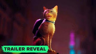 STRAY: Full PS5 Trailer Reveal (the PS5 cat game)