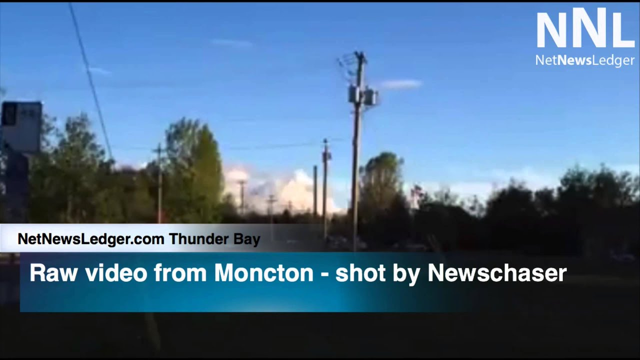 Shooting Raw Footage: Shooting = Raw Footage Newschaser Moncton NB June 4 2014