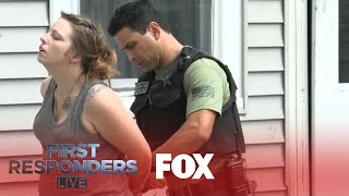 Police Arrest Woman In Suspicious Drug Activity | Season 1 Ep. 10 | FIRST RESPONDERS LIVE