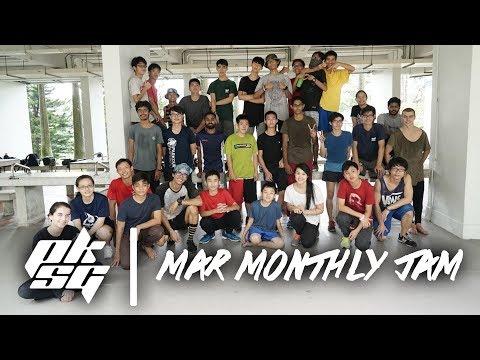 Parkour Singapore | March Monthly Jam