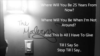 Video The Moderns - All I Have to Give (Lyrics) download MP3, 3GP, MP4, WEBM, AVI, FLV Januari 2018