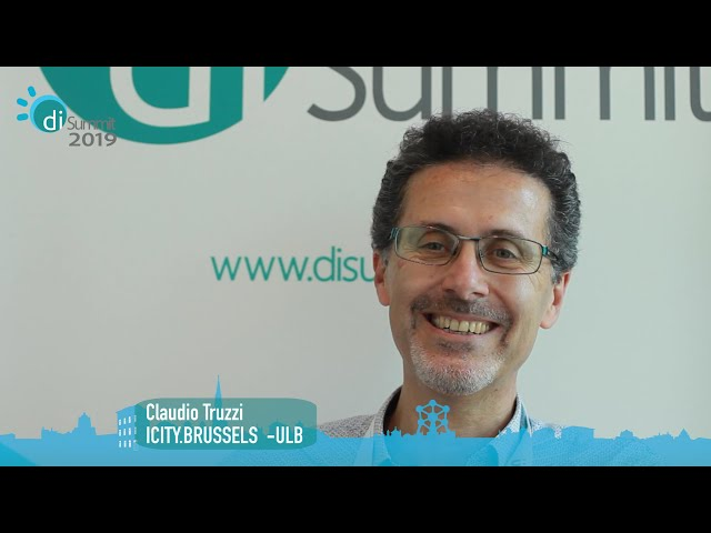 Interview with Claudio Truzzi, from icity.Brussels - ULB