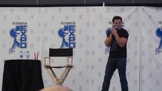 Edmonton Comic Expo 2013: John Barrowman - Part 1/3