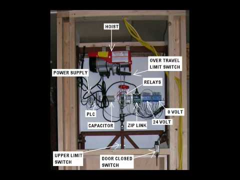 diy dumb waiter construction details - youtube diy elevator wiring diagram
