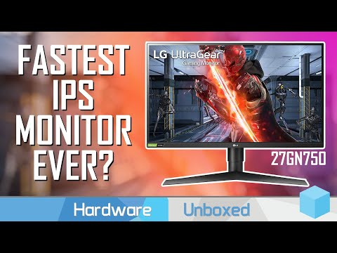 """LG 27GN750 Review, """"1ms"""" IPS + 240Hz Refresh, The Best 1080p Gaming Monitor?"""
