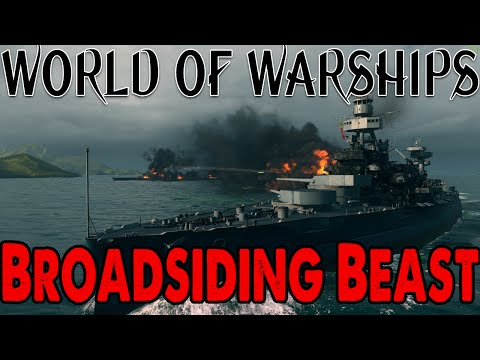 World of Warships: Wyoming - Broadsiding beast