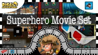 [~Movie Madness~] #1 Superhero Movie Set - Diggy