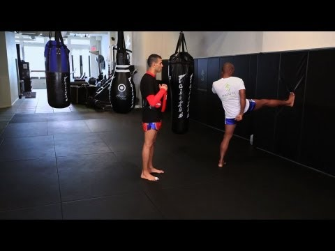 How to Do a Push Kick in Kickboxing | Muay Thai