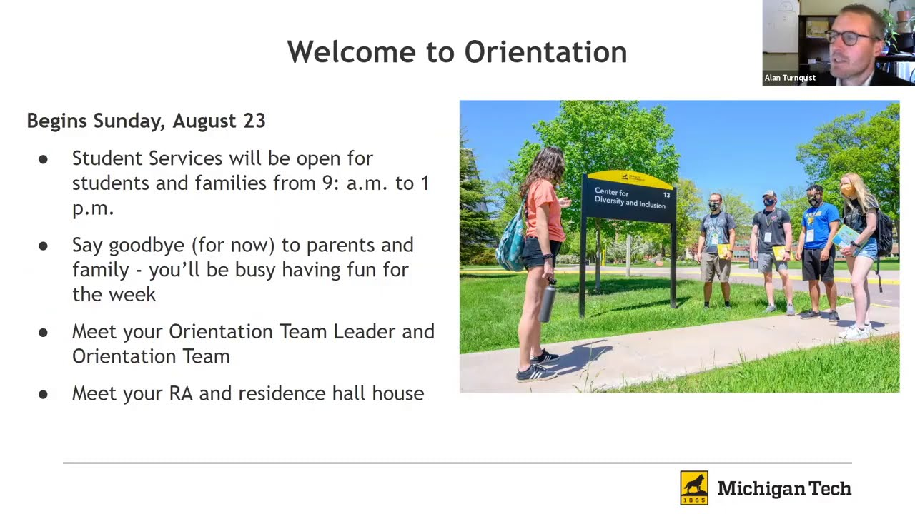 Preview image for Orientation 2020 Webcast video