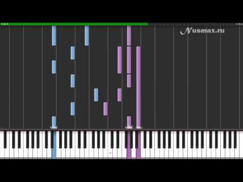 Hans Zimmer  Tennessee OST Pearl Harbor Piano Tutorial Synthesia + Sheets + MIDI