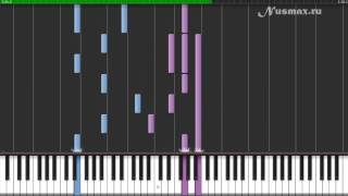 Hans Zimmer - Tennessee (OST Pearl Harbor) Piano Tutorial (Synthesia + Sheets + MIDI)