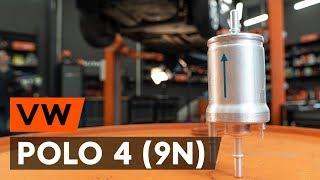 Hoe een brandstoffilter vervangen op een VW POLO 4 (9N) [AUTODOC-TUTORIAL]