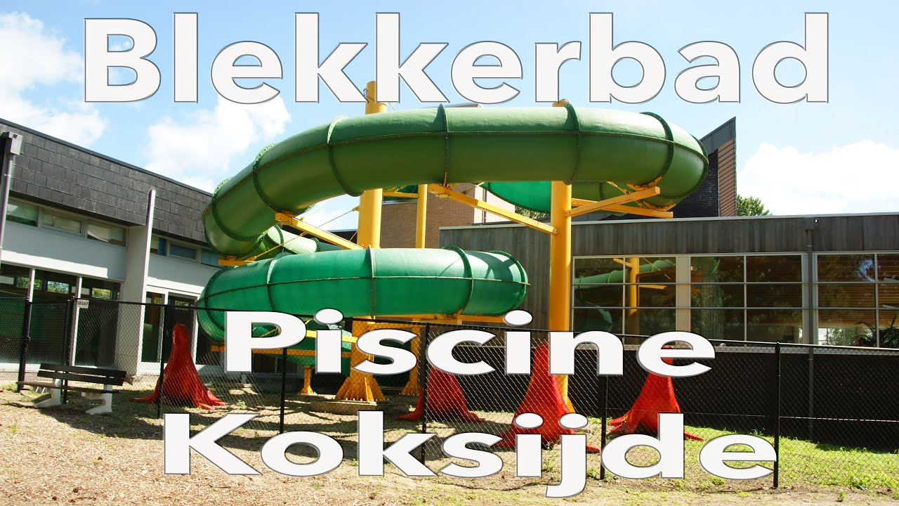 Piscine communale koksijde hoge blekker youtube for Piscine koksijde