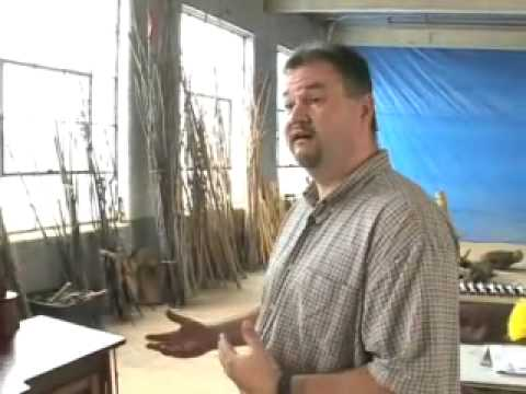 Adirondack Living TV Meets With Rustic Furniture Maker David Waller PART 2  Of 2