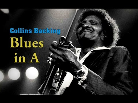 Chicago Blues Guitar Backing Track - Albert Collins Style in A 122 Bpm